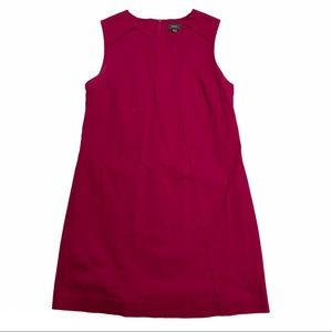 MEXX raspberry coloured sleeveless sheath dress